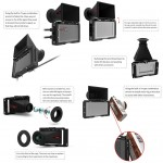 """Portkeys 501 5""""EVF CAGE voor LH5 - LH5T - LH5 HDR monitor"""