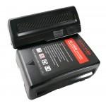 HL-160S-V universele V-mount accu 160Wh 10.8Ah  Samsung or LG A grade