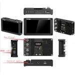 "Portkeys BM5 II HDMI - SDI 5.2"" Touch Screen Monitor 2200 Nits met 3D Luts"