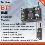 Portkeys Bluetooth module BT1 voor BM5 I en II Wireless Support to Control BMPCC4K/6K pocket en bepaalde Sony camera's