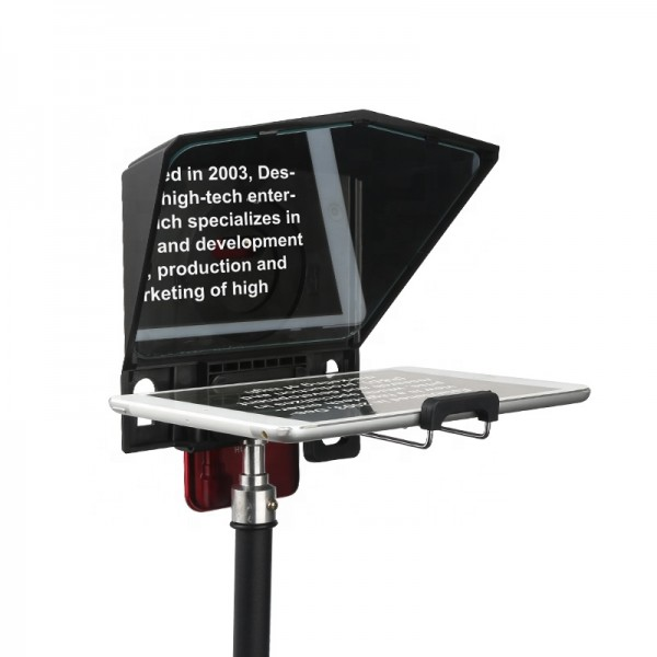 Desview T2 Teleprompter Autocue voor smartphone etc. incl. RC