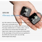 FM-40 Draadloze mini UHF microfoon set