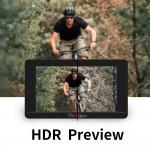 Portkeys LH5 HDR 5 inch 4K FHD Touchscreen Ultrabright  1500 Nits HDMI monitor met 3D LUT