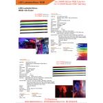 BiColor + RGB LED tube Kort DJ-LT60 20W + 36W RGB