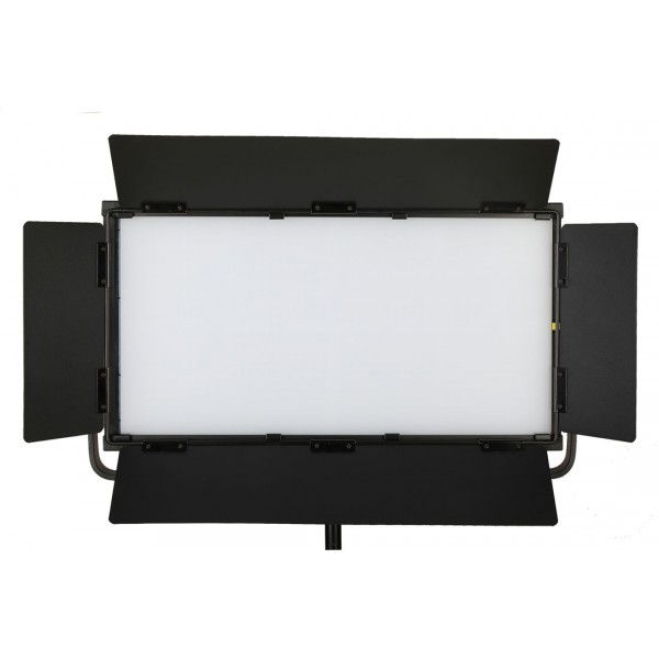 DJ-112L 120W LED Softlight Flatpanel BiColor 2800-6500K presets 2850 LUX display V mount DMX App Control