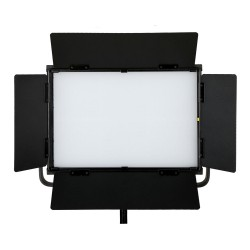 DJ-112M 90W LED Softlight Flatpanel BiColor 2800-5600K presets 2300 LUX display V mount DMX App Control