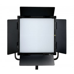 DJ-112S 60W LED Softlight Flatpanel BiColor 2800-6500K presets 1850 LUX display V mount DMX App Control