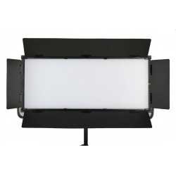 DJ-112XL 150W LED Softlight Flatpanel BiColor 2800-6500K presets 3600 LUX display 2 x V mount DMX App Control