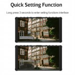 "Portkeys P6 5.5"" 4K HDMI Monitor met 3D LUT en Waveform"