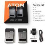 Vaxis Atom 500 Dual HDMI 1080P Draadloze video en audio zender set met 150 meter bereik
