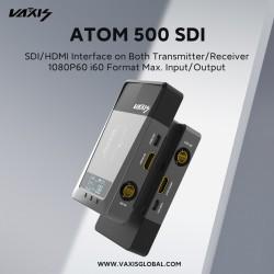 Vaxis Atom 500 SDI  Draadloze 1080P HDMI - SDI video en audio zender set met 150 meter bereik