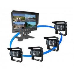 Achteruitrijcamera systemen en parkeerhulpen