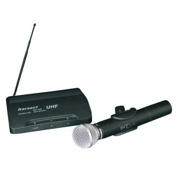 Draadloos UHF microfoonsysteem eenkanaals