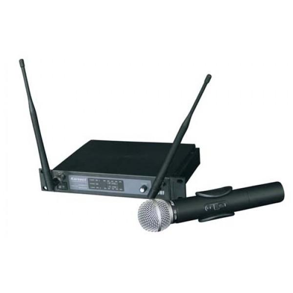 Draadloos uitgebreid UHF microfoonsysteem eenkanaals