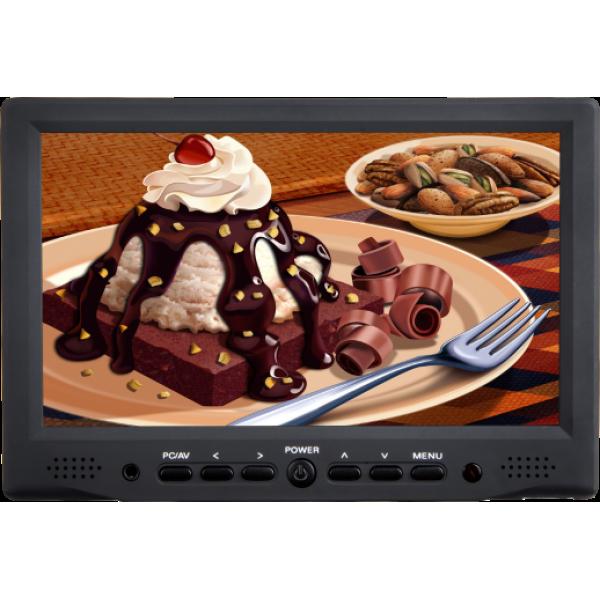 DJE708-M 7 inch Field monitor HDMI VGA A/V input Full HD support