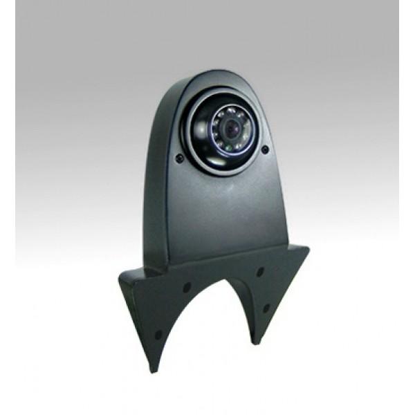 Bestelbus achteruitrijcamera zwart 4 polig met Sharp CCD
