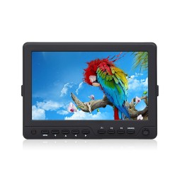 DJE703-HDO 7 inch Field monitor HDMI - A/V in en uit Full HD support