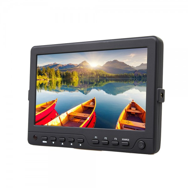 DJE703-HDS 7 inch Field monitor SDI - HDMI in en uit Full HD