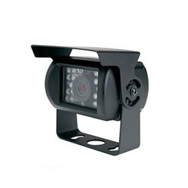 Achteruitrijcamera 4-polig met IR LED's voor universeel gebruik