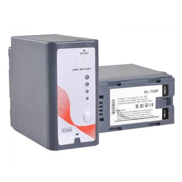 GCA D54S Panasonic compatible batterij Ultra hoge capaciteit 10.4 Ah
