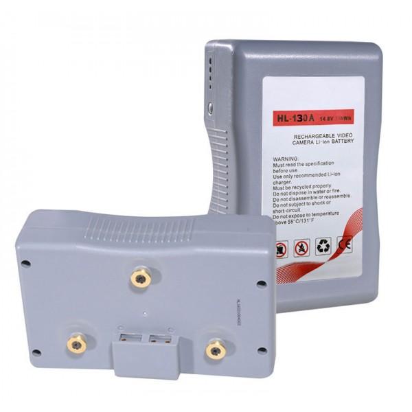 DJE-130A Anton Bauer / Gold mount batterij 130.24Wh Sanyo A cellen