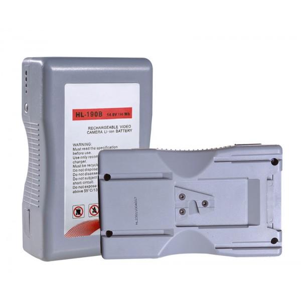 DJE-190B universele V-mount batterij 195.36Wh Sanyo A klasse