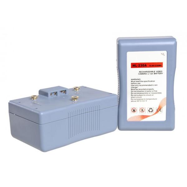 DJE-230A Anton Bauer / Gold Mount batterij 230.88Wh Sanyo A cellen