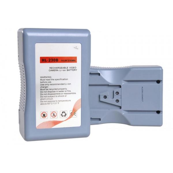 DJE-230B universele V-mount batterij 230.88Wh Sanyo A klasse