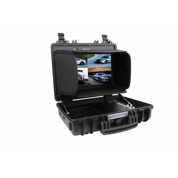 Bestview SP17 4K 17 inch UHD Broadcast monitor 4 x HDMI - 1 x 3G-SDI DVI VGA Quad View