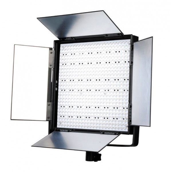 LED video Panel Flood 60º verlichting 3800 LUX  V-mount en AB