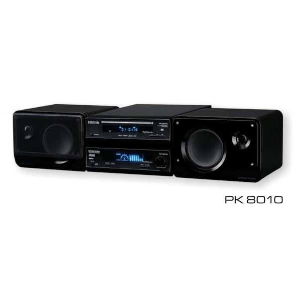 Hifi DVD Divx miniset met RDS tuner 2 x 25 Watt PK8010