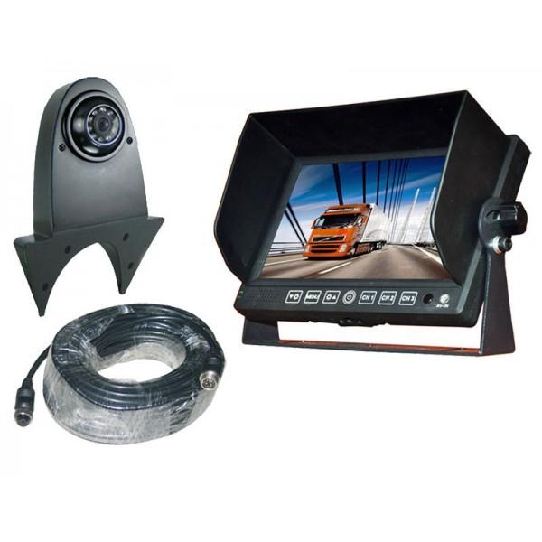 Achteruitrijcamera set 7 inch HD monitor met bestelbuscamera