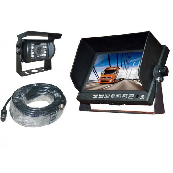 Achteruitrijcamera set 7 inch HD monitor met achteruitrijcamera