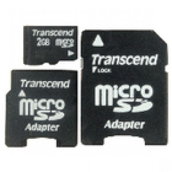 Microsd-kaart 2 gb class 4 CMP-TF2GB