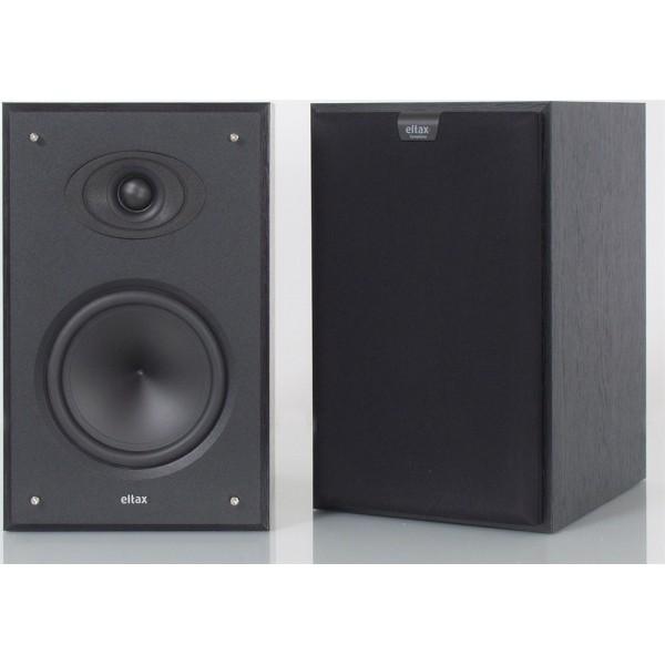 Eltax Symphony 2 x center + 2 x rear speaker 4-pack  Black