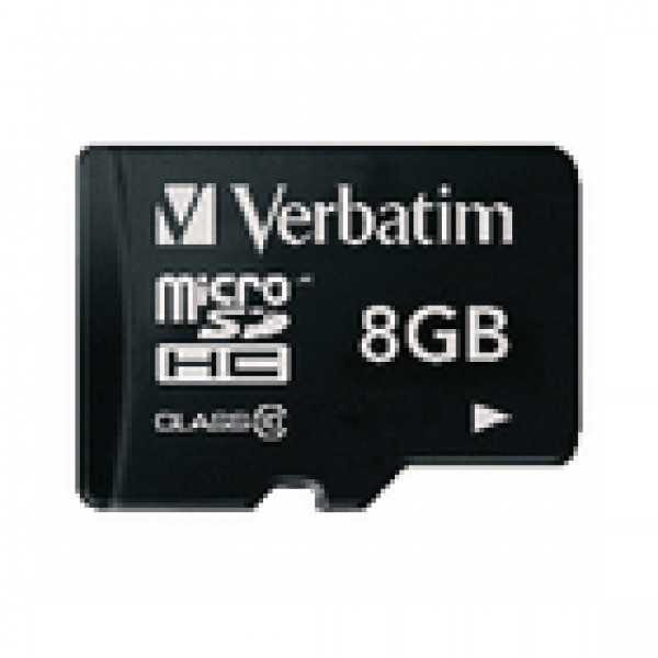 Microsdhc-kaart 8 gb class 10 VB-TFHC10-08G