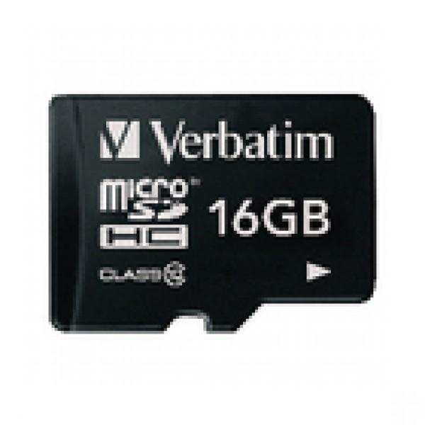 Microsdhc-kaart 16 gb class 10 VB-TFHC10-16G
