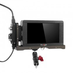 Long-arm-camerabesturingsbox voor LH5T / LH5s 5 inch 3D LUT 4K-signaalondersteuning & touchscreen HDMI-monitor KIT